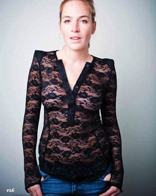Madonna ordered this lace henley by Smythe_Fall 2010