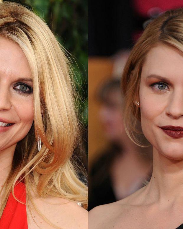 Claire Danes_Golden Globes_SAG Awards_2013_makeup