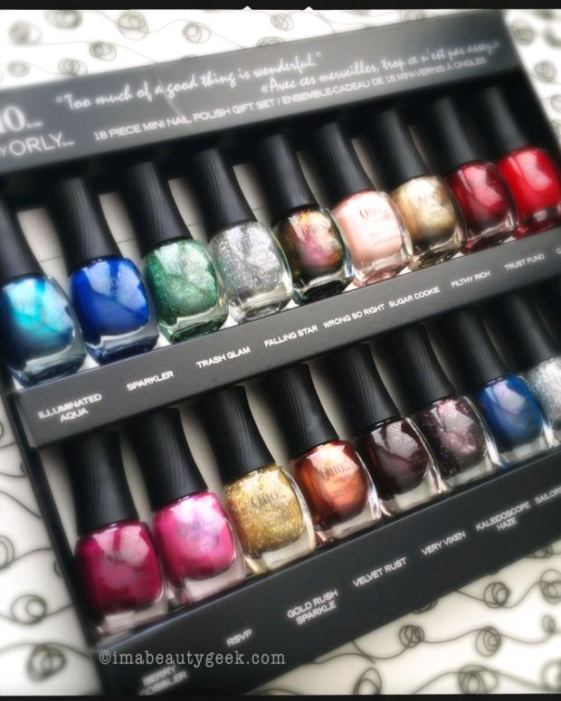Quo mini set_Quo by Orly Holiday 2013