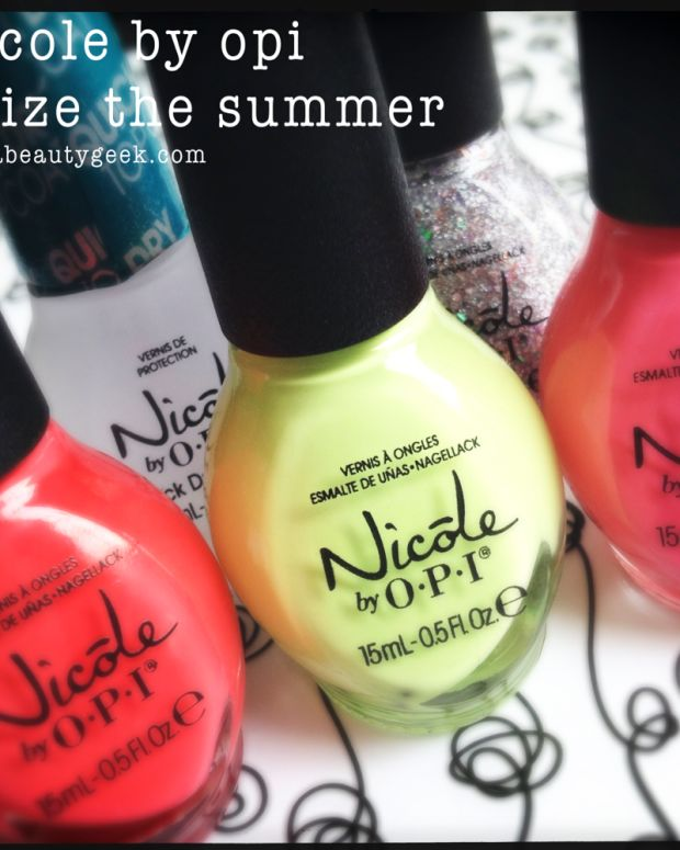 Nicole by OPI Summer 2014_Nicole by OPI Seize the Summer 2014