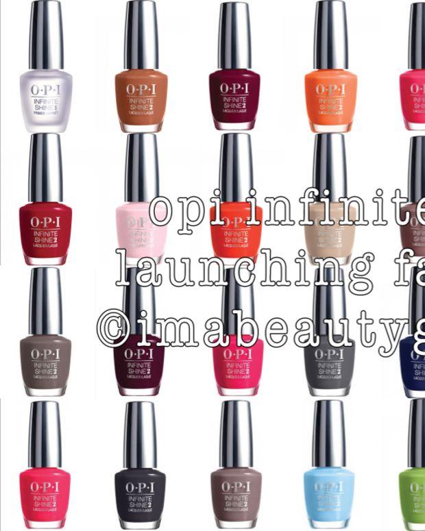 OPI Infinite Shine BeautyGeeks