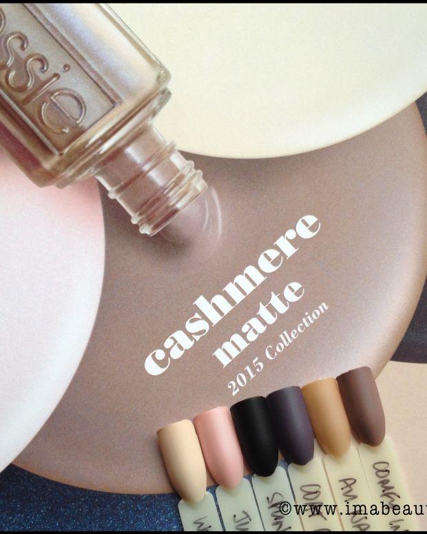 Essie Cashmere Matte Collection 2015