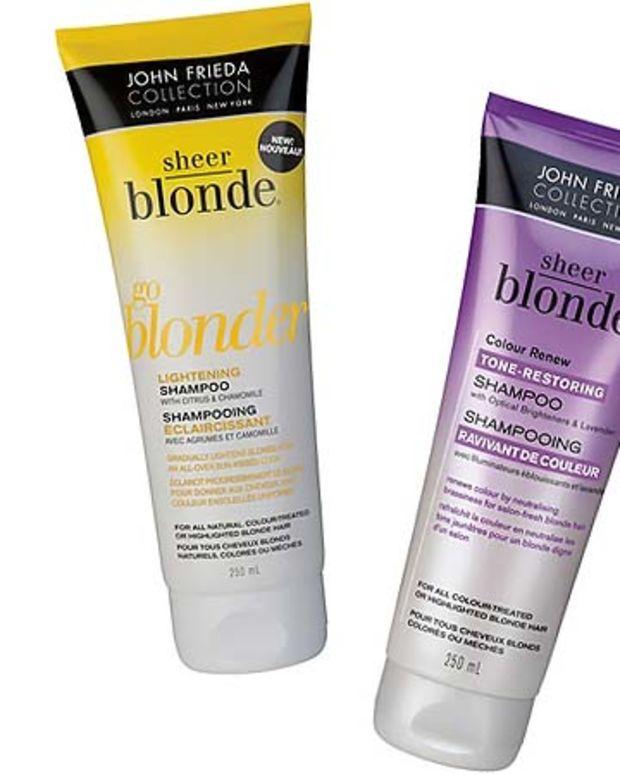 John Frieda Sheer Blonde Go Blonder and Colour Renew
