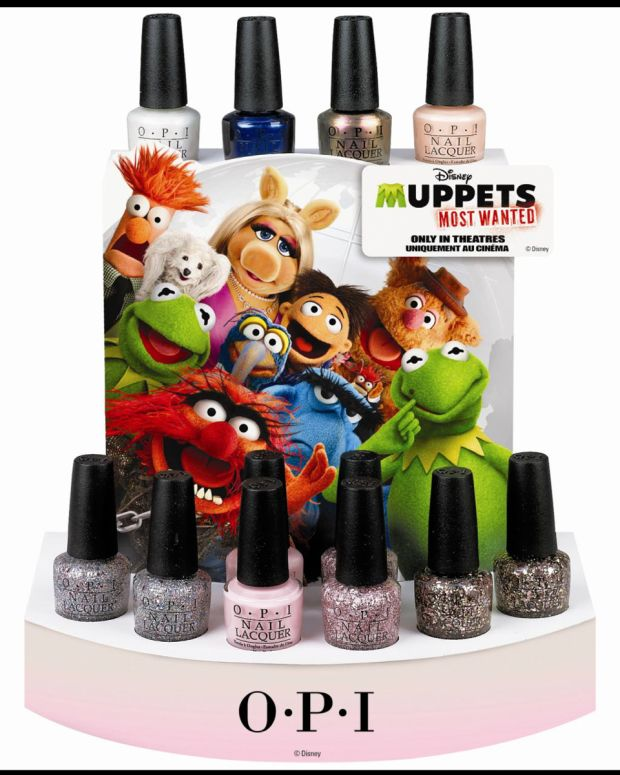 OPI Muppets Most Wanted Spring 2014 Display