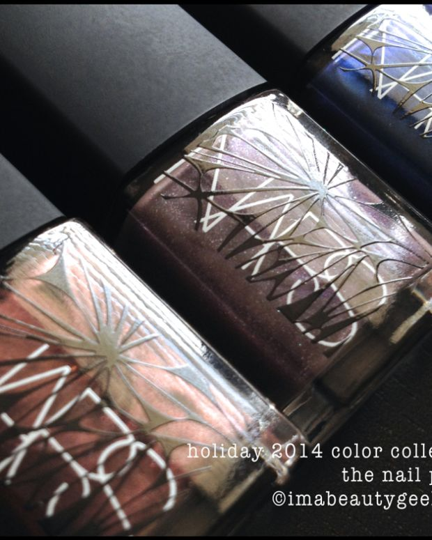NARS holiday 2014 nail polish Color Collection