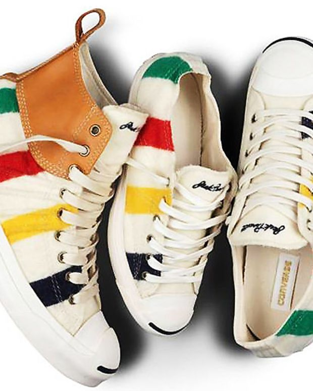 Converse_Jack Purcell_Hudson's Bay Company blanket