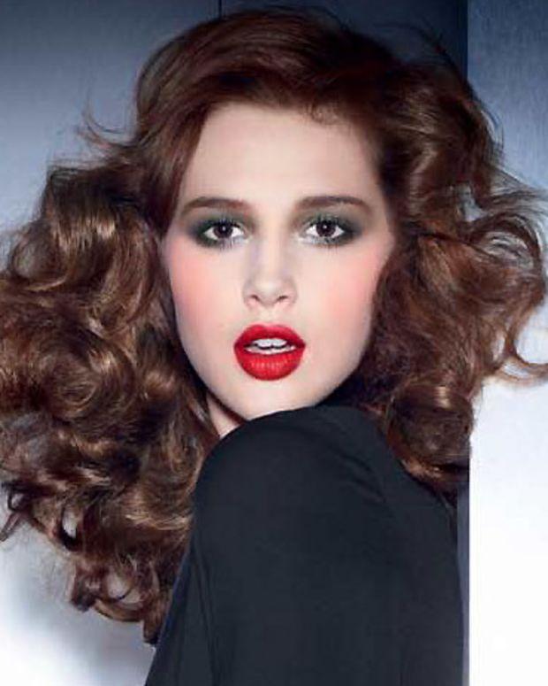YSL Fall 2012 makeup ad image