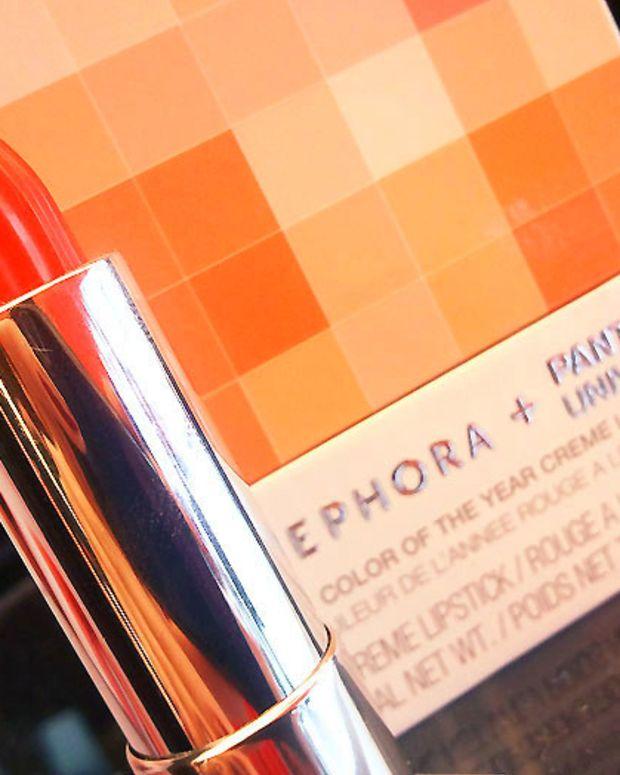 Sephora + Pantone Universe Color of the Year Tangerine Tango Cream Lipstick