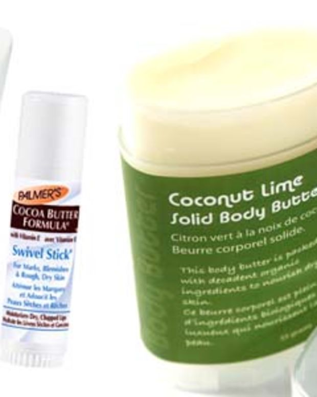 The Soap Girl Coconut Lime Solid Body Butter $15