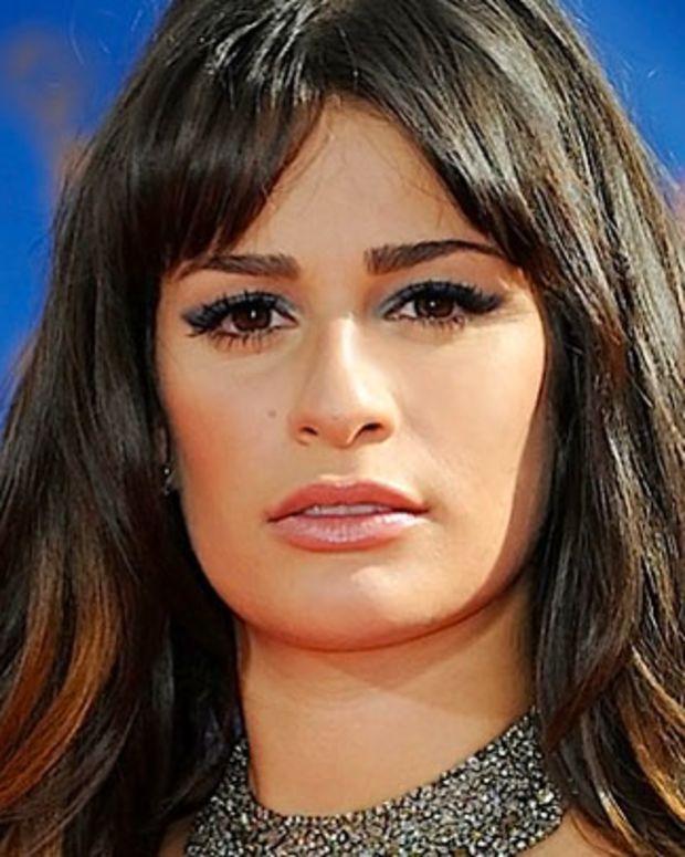 Lea Michele 2010 Emmys