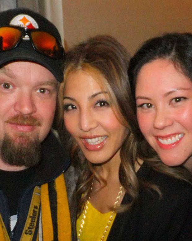 Global TV's Junior and Minna Rhee_Janine Falcon