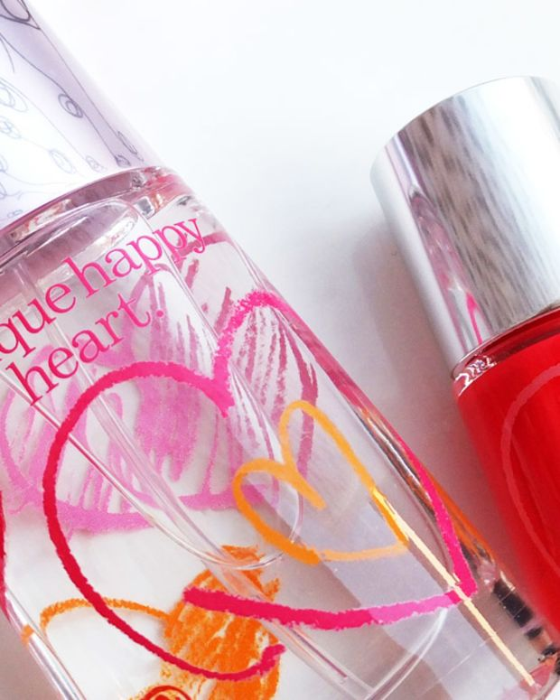 Clinique Happy Hearts Fund_Clinique Happy Heart Perfume_Clinique Happy Nail Polish