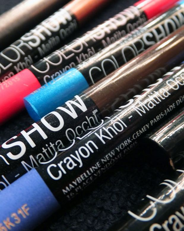 Maybelline-Crayon Kohl Liners for eyes