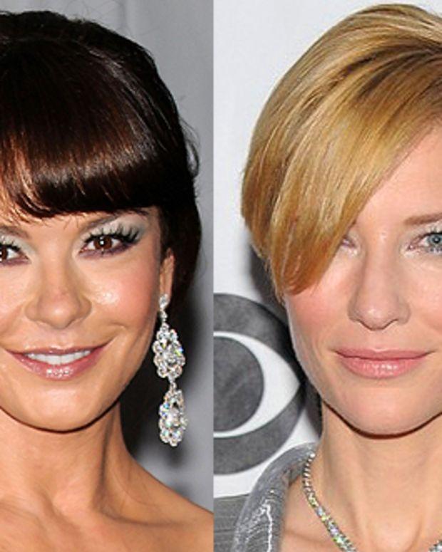 Catherine Zeta Jones and Cate Blanchett