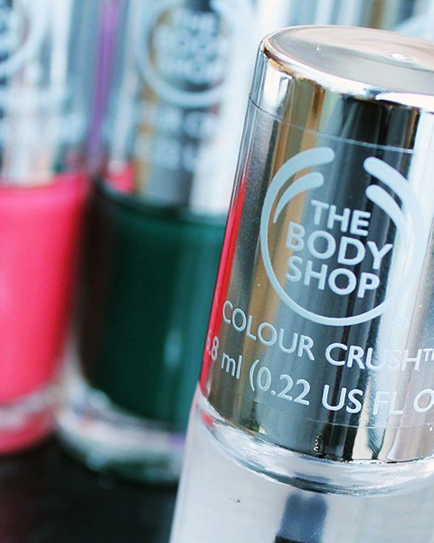The Body Shop nail polish 2014