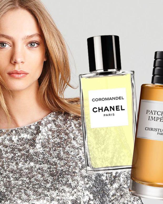 alice+olivia sequins_Chanel Coromandel_Dior Patchouli Imperial