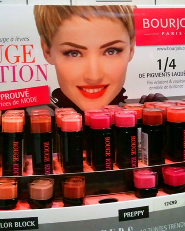 Bourjois Paris Rouge Edition Lipstick_display Monoprix Paris.jpg