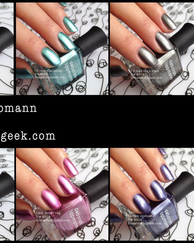 Deborah Lippmann fall 2014 composite Beautygeeks