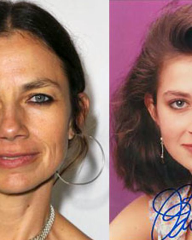 Justine Bateman now and then
