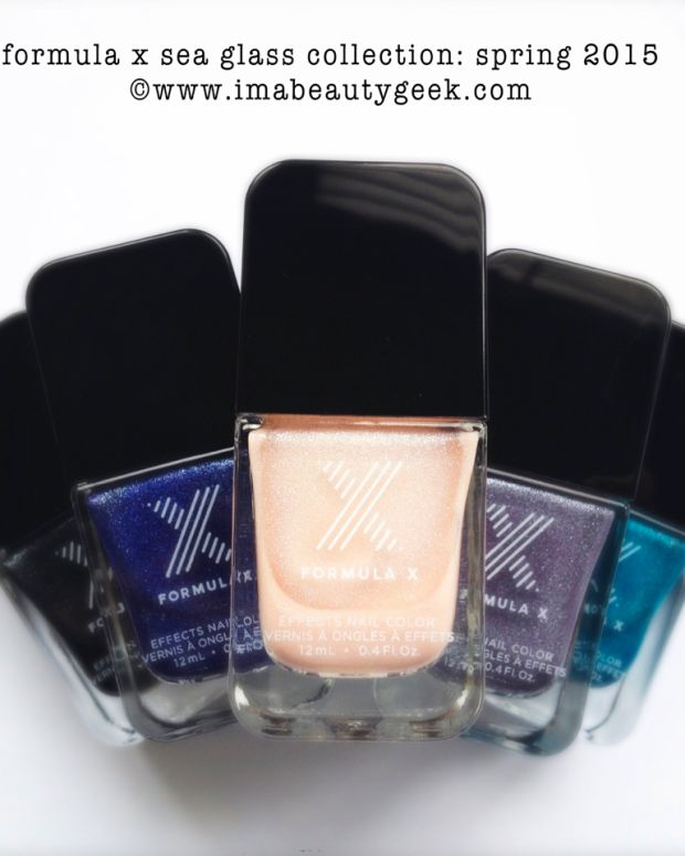Formula X Sea Glass Limited Edition Spring 2015
