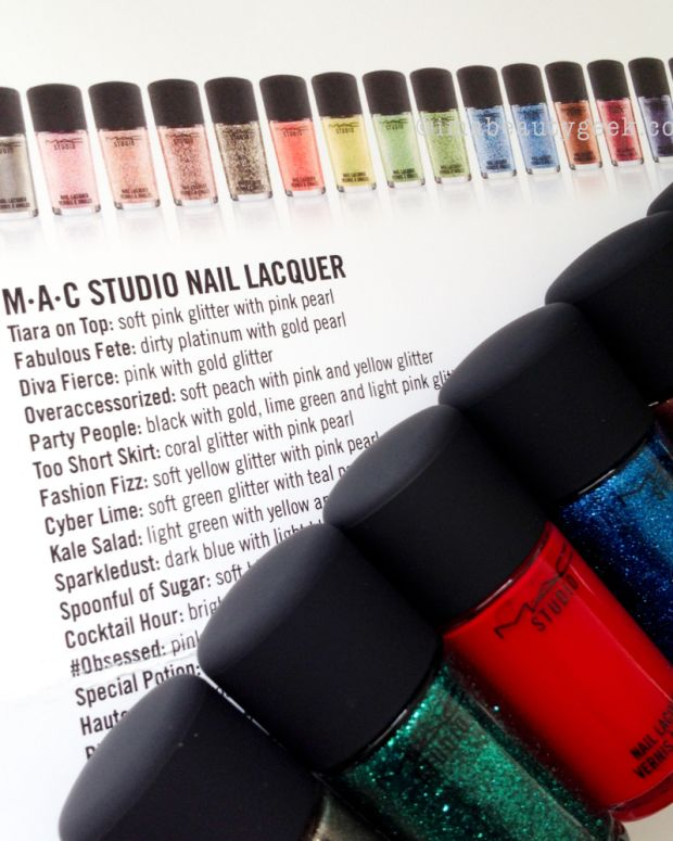 MAC Studio Nail Lacquer for 2015
