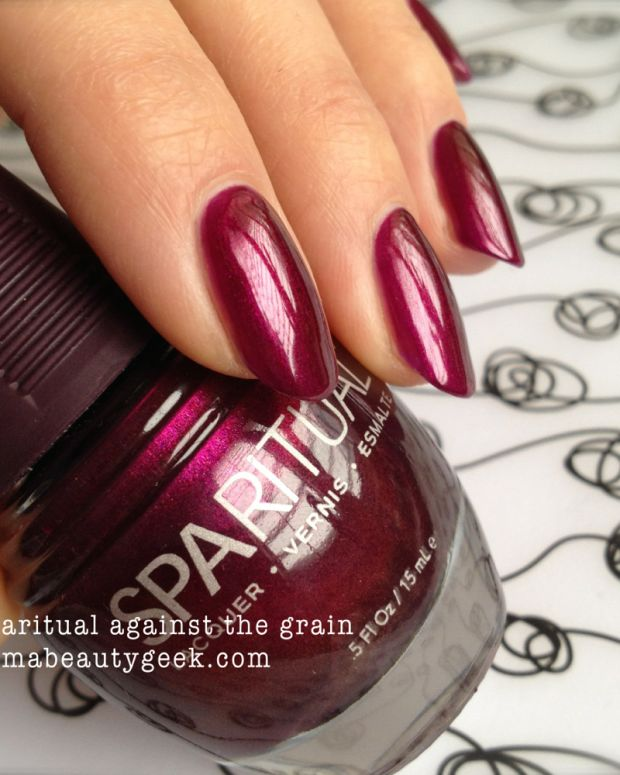Sparitual Against The Grain Swatch 1