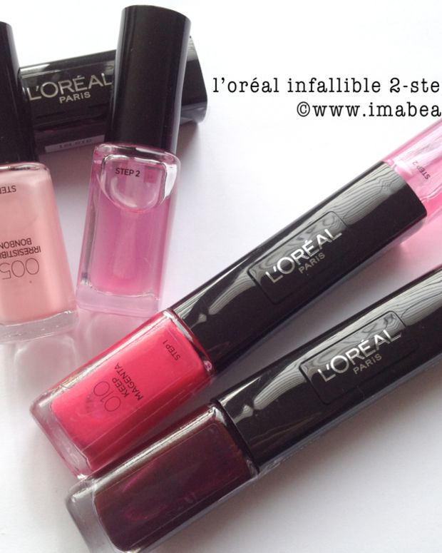 loreal infallible 2step nail colour