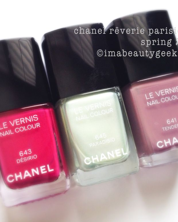 Chanel Reverie Parisienne Spring 2015 Polishes