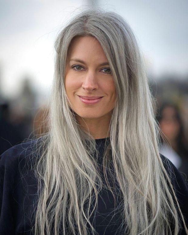 Grey hair_beauty trend 2105_Sarah Harris of Vogue UK