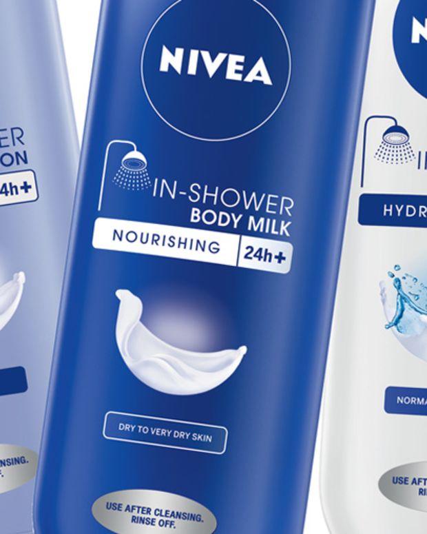 Nivea In-Shower Body Lotion, In-Shower Body Milk, In-Shower Body Lotion