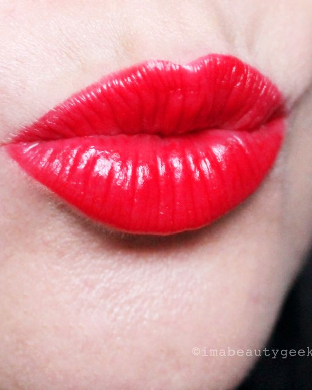 Revlon Ultra HD Lipstick in 875 Gladiolus -- true red