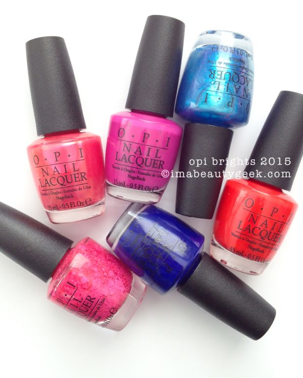 OPI Brights 2015_Beautygeeks