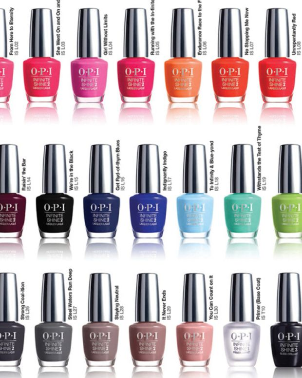 OPI Infinite Shine Shades 2015 Beautygeeks