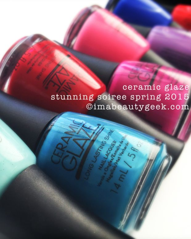 Ceramic Glaze Stunning Soiree Spring 2015 Beautygeeks Header