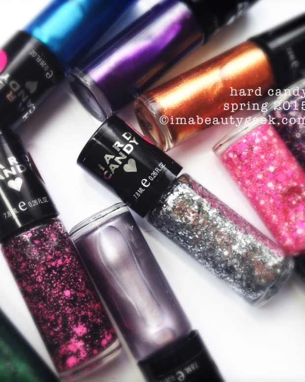 Hard Candy Nail Polish Spring 2015 Header