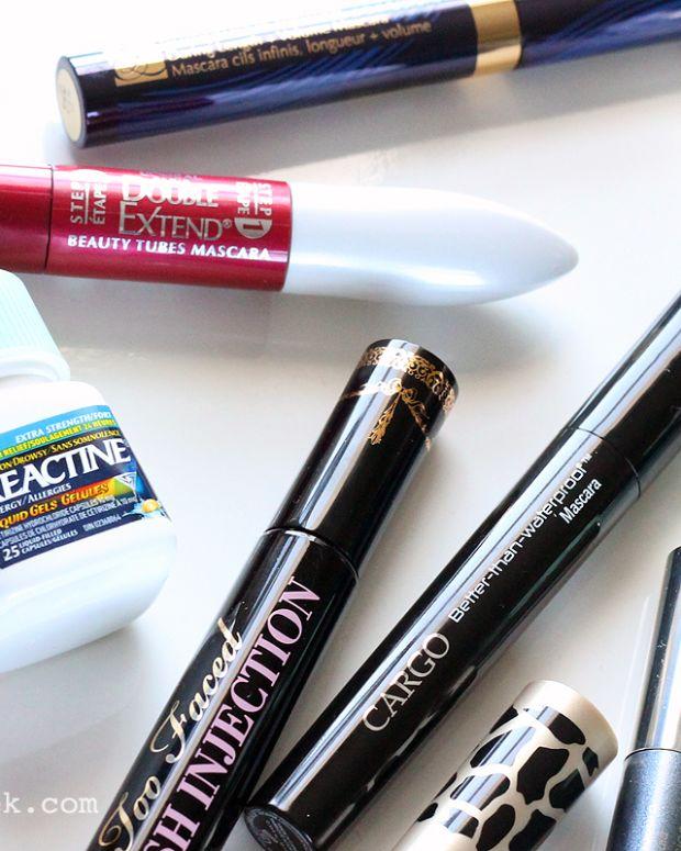 Best Tube Mascaras for Allergy Season_or Reactine works too