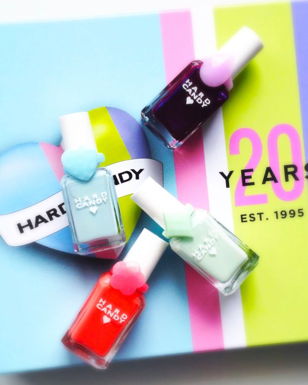 Hard Candy 20th Anniversary Nail Polish Sky Mint Scam