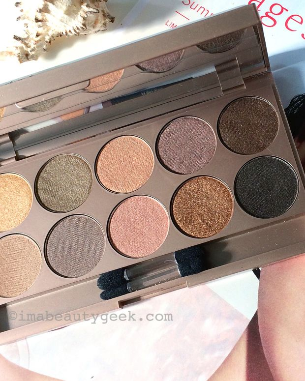 Lise Watier Rivages eyeshadow palette summer 2015