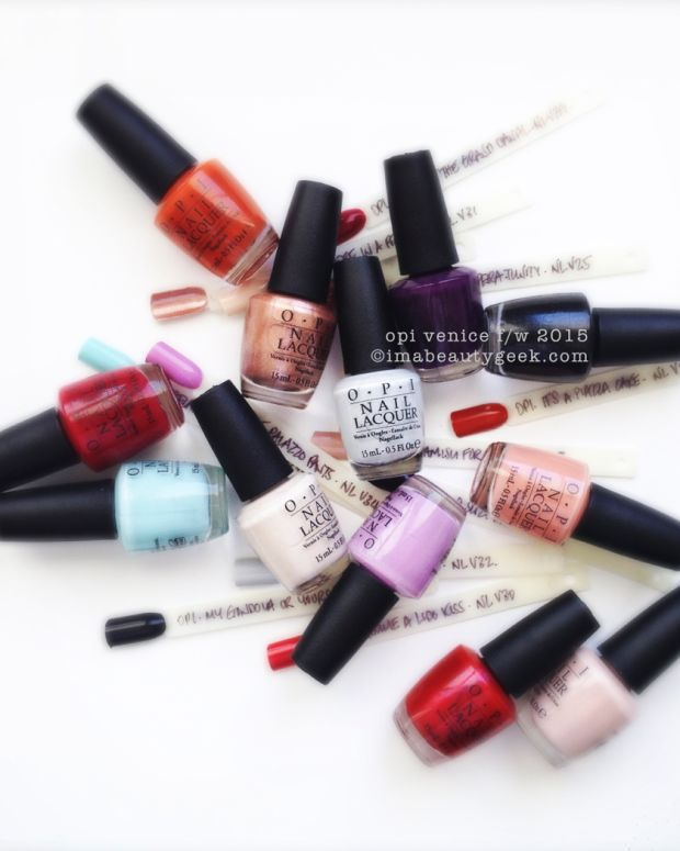 OPI Venice Collection 2015 Beautygeeks