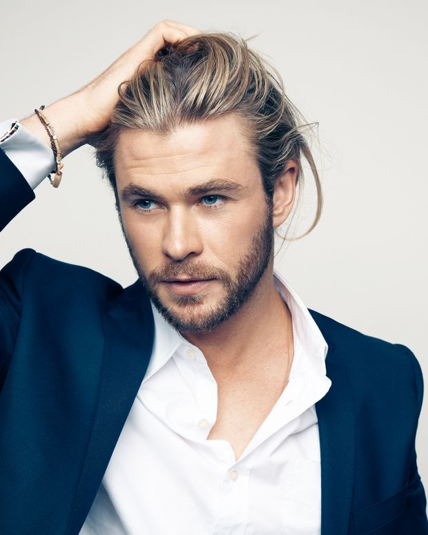 Chris Hemsworth or the Biore Charcoal Soap?