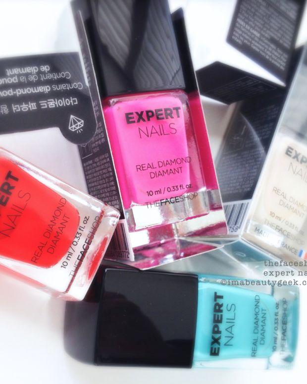 TheFaceShop Expert Nails Diamond Polish The Face Shop