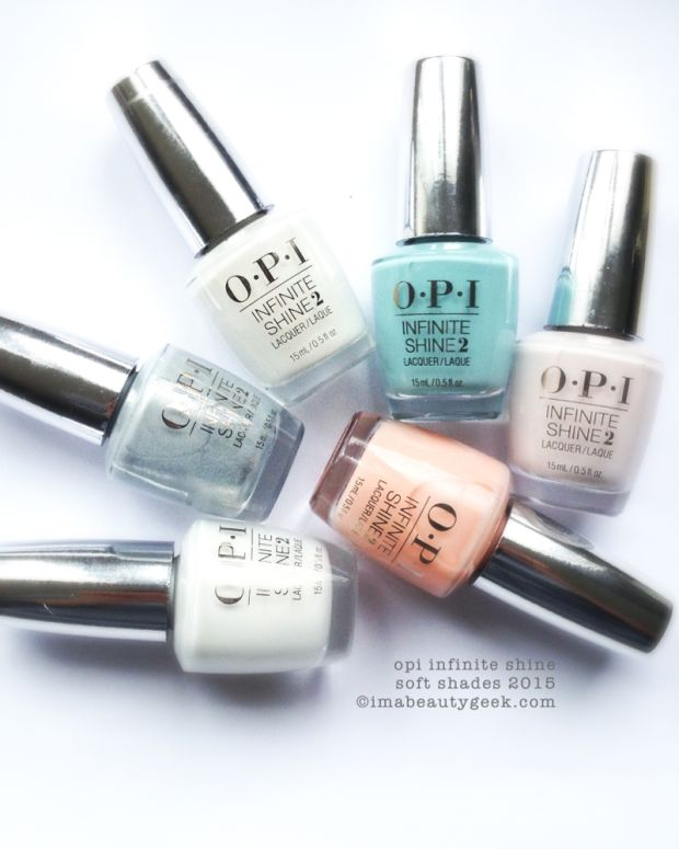 OPI Infinite Shine Soft Shades 2015