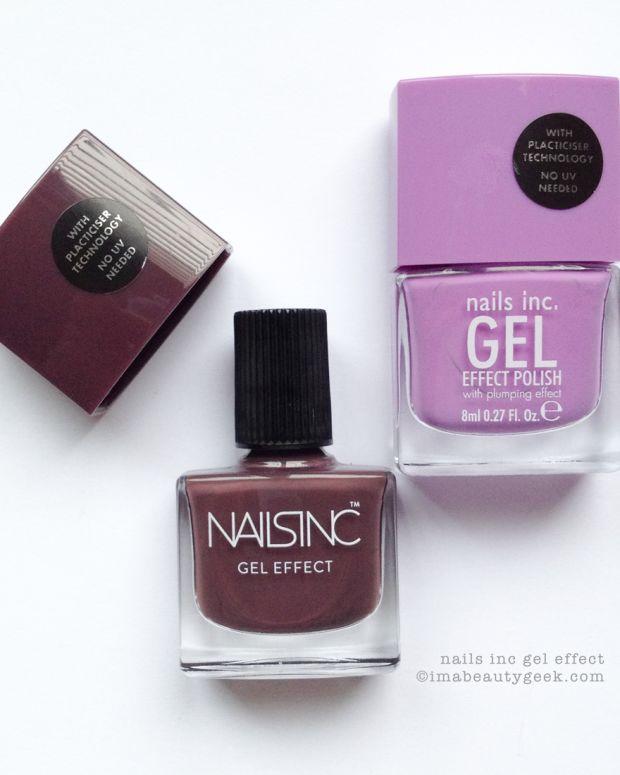 Nails Inc Lexington Gardens & Nails Inc New Oxford Street Swatches