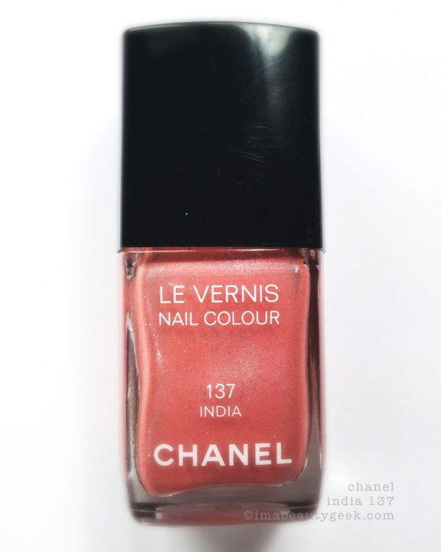 Chanel India 137 Nail Colour 2004