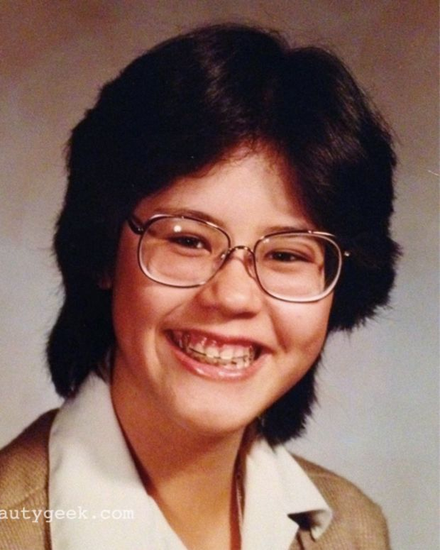Throwback to 1982. Age 14. Pre-Beautygeeks. Obviously.