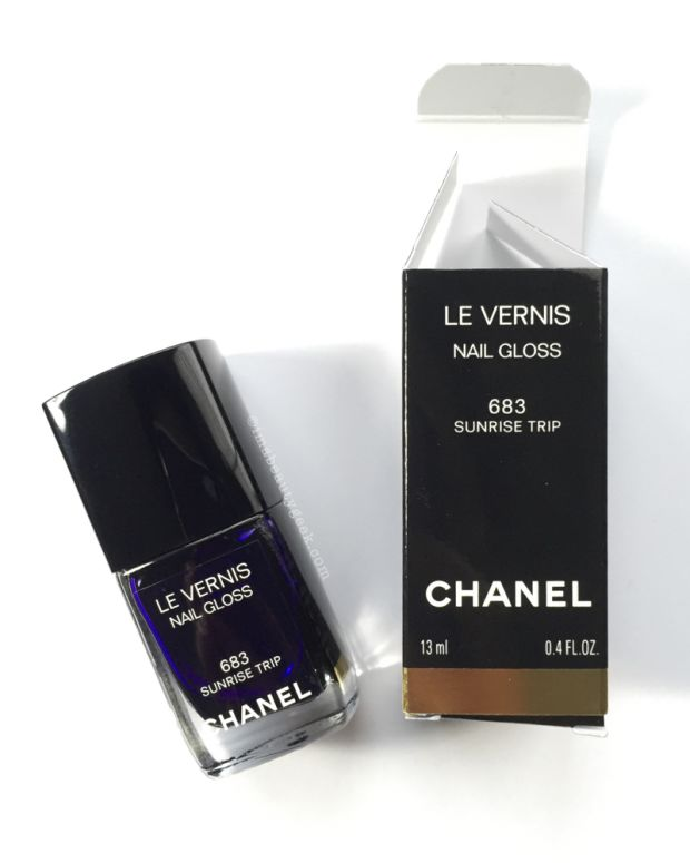 Chanel Sunrise Trip 683 Le Vernis_Chanel LA Sunrise Spring 2016