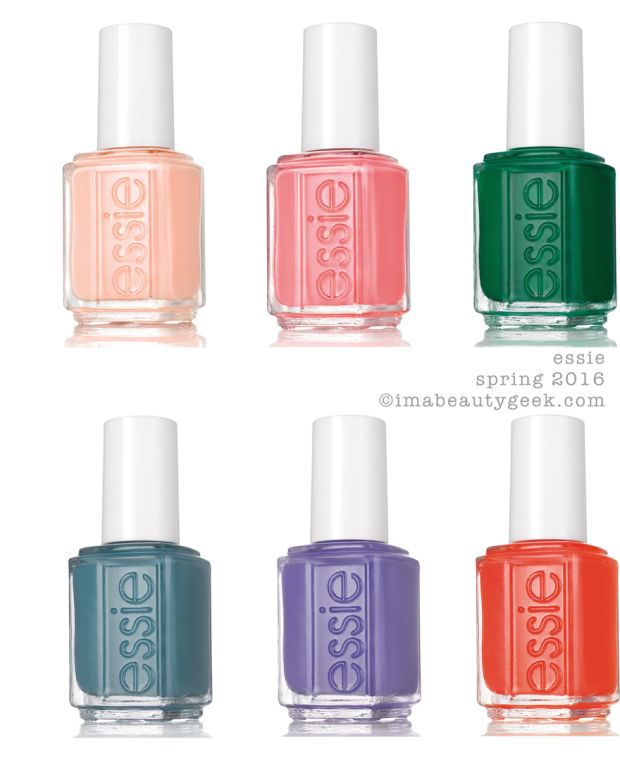 Essie Spring 2016 Collection Beautygeeks