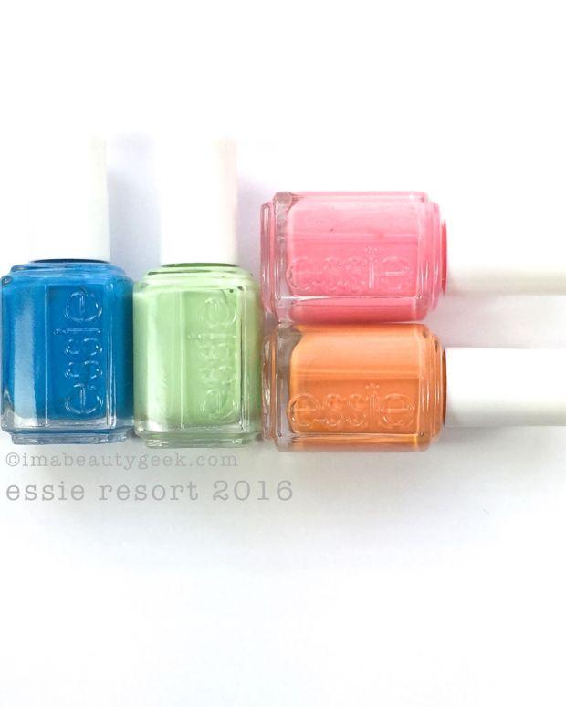 Essie Resort 2016 Swatches Review manigeek