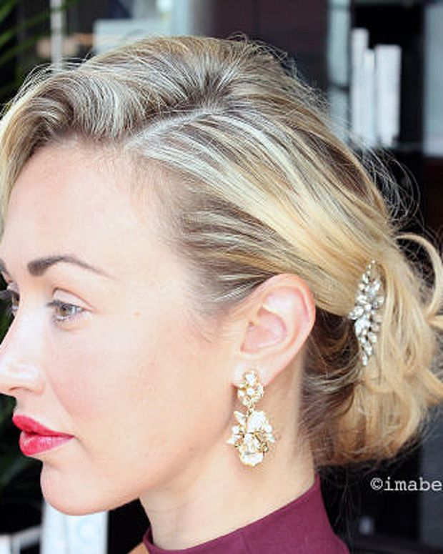 valentine's day_one-minute up-do