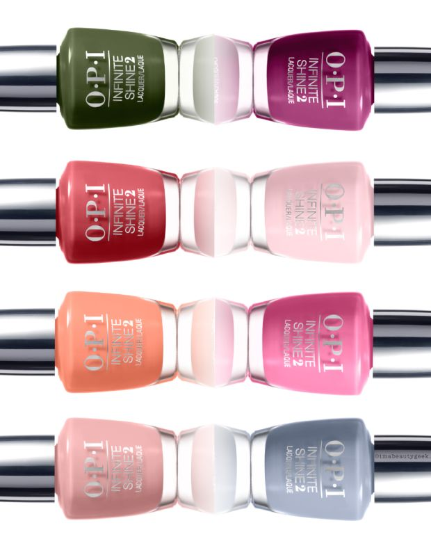 OPI Infinite Shine Spring 2016